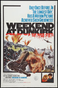 "Movie Posters:War, Weekend at Dunkirk Lot (20th Century Fox, 1966). One Sheet (27"" X41"") and Program Books (2) (Multiple Pages, 9"" X 12""). War...(Total: 3 Items)"