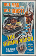 "Movie Posters:Science Fiction, The Human Vapor (Brenco, 1962). One Sheet (27"" X 41""). ScienceFiction.. ..."