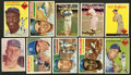Baseball Cards:Lots, 1950's Brooklyn Dodgers Baseball Collection (54) With Many Stars!...