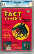 Golden Age (1938-1955):Superhero, Real Fact Comics #5 (DC, 1946) CGC VF+ 8.5 White pages....