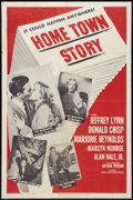 "Movie Posters:Drama, Home Town Story (MGM, 1951). One Sheet (27"" X 41""). Drama.. ..."
