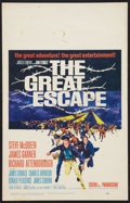 """Movie Posters:War, The Great Escape (United Artists, 1963). Window Card (14"""" X 22"""").War.. ..."""