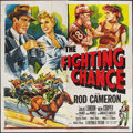 """Movie Posters:Sports, The Fighting Chance Lot (Republic, 1955). Six Sheet (81"""" X 81"""") and Herald (6.5"""" X 9.5""""). Sports.. ..."""