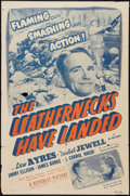 """Movie Posters:War, The Leathernecks Have Landed (Republic, R-1950). One Sheet (27"""" X41""""). War.. ..."""