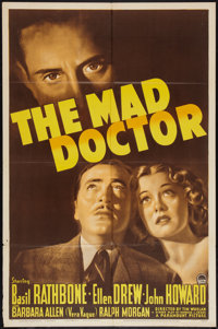 "The Mad Doctor (Paramount, 1941). One Sheet (27"" X 41""). Crime"