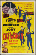"""Movie Posters:Science Fiction, Cat-Women of the Moon (Astor Pictures, 1954). One Sheet (27"""" X41""""). Science Fiction.. ..."""