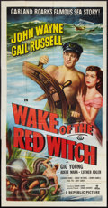 "Movie Posters:Adventure, Wake of the Red Witch (Republic, 1949). Three Sheet (41"" X 81"").Adventure.. ..."