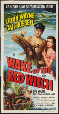 """Wake of the Red Witch (Republic, 1949). Three Sheet (41"""" X 81""""). Adventure"""