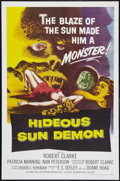 "Movie Posters:Science Fiction, Hideous Sun Demon (Pacific International, 1959). One Sheet (27"" X41""). Science Fiction.. ..."