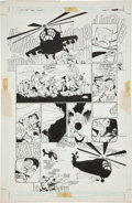 Original Comic Art:Panel Pages, Frank Miller and Klaus Janson Batman: The Dark KnightReturns #3 page 24 Original Art (DC, 1986)....