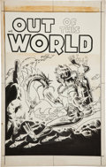 Original Comic Art:Covers, Steve Ditko Out of This World #5 Cover Original Art(Charlton, 1957)....