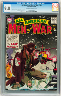 All-American Men of War #104 (DC, 1964) CGC VF/NM 9.0 Cream to off-white pages