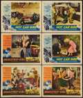 "Movie Posters:Bad Girl, Dragstrip Girl Lot (American International, 1957). Lobby Cards (11)(11"" X 14""). Bad Girl.. ... (Total: 11 Items)"