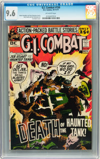 G.I. Combat #150 (DC, 1971) CGC NM+ 9.6 Off-white pages