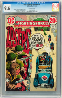 Our Fighting Forces #140 (DC, 1972) CGC NM+ 9.6 Off-white pages