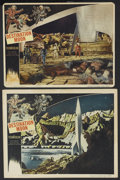 "Movie Posters:Science Fiction, Destination Moon (Pathe', 1950). Lobby Cards (2) (11"" X 14"" and10.5"" X 13.5""). Science Fiction. Based closely on the Robert...(Total: 2 Items)"