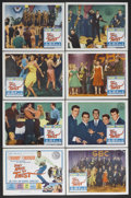 "Movie Posters:Rock and Roll, Don't Knock the Twist (Columbia, 1962). Lobby Card Set of 8 (11"" X14""). Rock Musical. Starring Chubby Checker, Gene Chandle...(Total: 8 Items)"