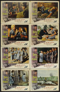 "Movie Posters:Bad Girl, Girls in Prison (American International, 1956). Lobby Card Set of 8(11"" X 14""). Women's Prison. Starring Richard Denning, J... (Total:8 Items)"