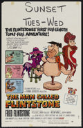 "Movie Posters:Animated, The Man Called Flintstone (Columbia, 1966). Window Card (14"" X 22""). Animated. Starring the voices of Alan Reed, Mel Blanc, ..."