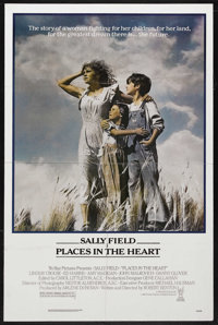 """Places in the Heart (Tri Star Pictures, 1984). One Sheet (27"""" X 41""""). Drama. Starring Sally Field, Lindsay Cro..."""
