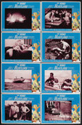 """Movie Posters:Action, The Road Hustlers (Gail Film, 1968). Lobby Card Set of 8 (11"""" X 14""""). Action. Starring Jim Davis, Scott Brady, Bruce Yarnell... (Total: 8 Item)"""