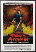 "Movie Posters:Adventure, Shogun Assassin (New World Pictures, 1980). One Sheet (27"" X 41"").Martial Arts. Starring Tomisaburo Wakayama, Masahiro Tomi..."