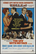 "Movie Posters:Action, The Spy With My Face (MGM, 1965). One Sheet (27"" X 41""). SpyThriller. Starring Robert Vaughn, Senta Berger, and David McCal..."