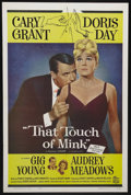 """Movie Posters:Comedy, That Touch of Mink (Universal, 1962). One Sheet (27"""" X 41"""").Romantic Comedy. Starring Cary Grant, Doris Day, Gig Young and ..."""