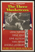 "Movie Posters:Adventure, The Three Musketeers (MGM, 1948). One Sheet (27"" X 41"") Style D.Action Adventure. Starring Lana Turner, Gene Kelly, June Al..."