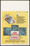 "Movie Posters:Hitchcock, Topaz (Universal, 1969). Window Card (14"" X 22""). Thriller. Starring Frederick Stafford, Dany Robin, John Vernon, Philippe N..."