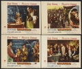 "Movie Posters:Adventure, Unconquered (Paramount, 1947). Lobby Cards (4) (11"" X 14""). CecilB. DeMille's historical drama about the American frontier ...(Total: 4 Item)"
