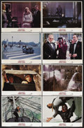 """Movie Posters:James Bond, A View to a Kill (MGM, 1985). Lobby Card Set of 8 (11"""" X 14""""). James Bond Action. Starring Roger Moore, Christopher Walken, ... (Total: 8 Item)"""
