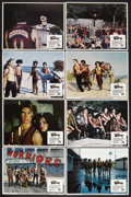 "Movie Posters:Action, The Warriors (Paramount, 1979). Lobby Card Set of 8 (11"" X 14"").Action. Starring Michael Beck, James Remar, Dorsey Wright a...(Total: 8 Item)"