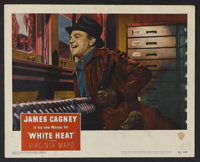 """White Heat (Warner Brothers, 1949). Lobby Card (11"""" X 14""""). Film Noir. One of the greatest crime films of the..."""