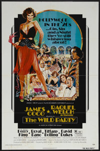 """The Wild Party (AIP, 1975). One Sheet (27"""" X 41""""). Drama. Starring Raquel Welch, James Coco, Tiffany Booling..."""
