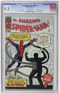 Silver Age (1956-1969):Superhero, The Amazing Spider-Man #3 (Marvel, 1963) CGC VG+ 4.5 Off-white pages....