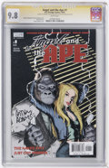 Modern Age (1980-Present):Humor, Angel and the Ape #1-4 CGC Signature Series Group (DC/Vertigo,2001-02).... (Total: 4)