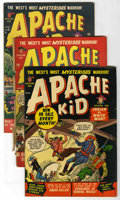"Golden Age (1938-1955):Western, Apache Kid Group - Davis Crippen (""D"" Copy) pedigree (Marvel,1951-52).... (Total: 6)"
