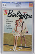 Silver Age (1956-1969):Romance, Barbie and Ken #4 (Dell, 1963) CGC VF- 7.5 Off-white pages....
