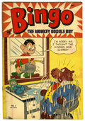 "Golden Age (1938-1955):Funny Animal, Bingo, the Monkey Doodle Boy #1 Davis Crippen (""D"" Copy) pedigree(St. John, 1953) Condition: VF...."