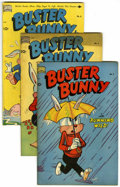 "Golden Age (1938-1955):Funny Animal, Buster Bunny Group - Davis Crippen (""D"" Copy) pedigree (StandardComics/ Pines, 1950-51).... (Total: 10)"
