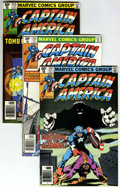 Modern Age (1980-Present):Superhero, Captain America Short Box Group (Marvel, 1980-94) Condition:Average NM....
