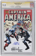 Modern Age (1980-Present):Superhero, Captain America #14 (Marvel, 2006) CGC NM/MT 9.8 White pages.... (Total: 2)