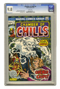 Bronze Age (1970-1979):Horror, Chamber of Chills #4 (Marvel, 1973) CGC NM/MT 9.8 White pages.Frank Brunner cover and art. Overstreet 2005 NM- 9.2 value = ...