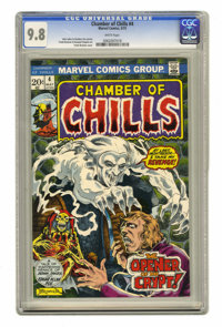 Chamber of Chills #4 (Marvel, 1973) CGC NM/MT 9.8 White pages