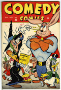 "Golden Age (1938-1955):Funny Animal, Comedy Comics #33 Davis Crippen (""D"" Copy) pedigree (Timely, 1946)Condition: VF-...."