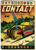 Golden Age (1938-1955):War, Contact Comics #nn (#1) (Aviation Press, 1944) Condition: GD....