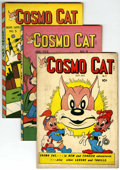 "Golden Age (1938-1955):Funny Animal, Cosmo Cat #2 and 4-10 Group - Davis Crippen (""D"" Copy) pedigree(Fox, 1946-47).... (Total: 8)"