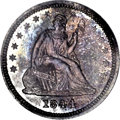 Proof Seated Quarters, 1844 25C PR66 NGC....