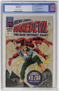Silver Age (1956-1969):Superhero, Daredevil #24 (Marvel, 1967) CGC NM 9.4 Off-white to white pages....